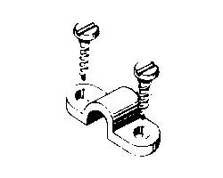 DBR238 1/8in Nylon Landing Gear Straps (4 pcs per pack)