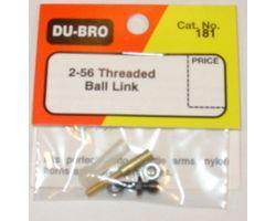 DBR181 2-56 Threaded Ball Link (1 pc per pack)