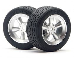HPI-4797  HPI vintage racing tire 31mm d-compound VTA Legal