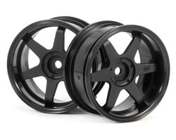 HPI-3846  HPI te37 wheel 26mm black 6mm offset