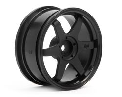 HPI-3841  HPI te37 wheel 26mm black 3mm offset