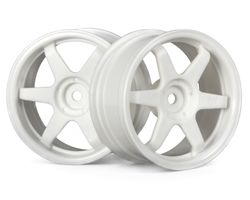 HPI-3840  HPI te37 wheel 26mm white 3mm offset
