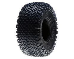 LOSA7678R Fr/R Boss Claws 2.2 Tires with Foam, Red (2)