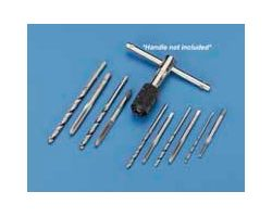 DBR509 10 pc. Standard Tap & Drill Set (1 pc per pack)