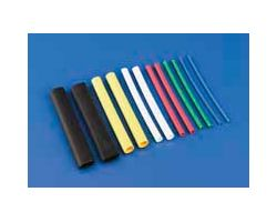 DBR439 1/4in Heat ShrinkTubing Yellow (3 pcs per pack)