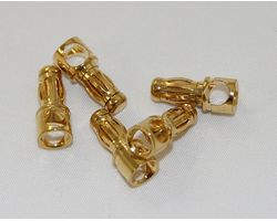 1-4117 3.5mm Gold Male Connectors each