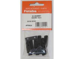 FUTSXFDS9150 Servo Grommet Flange Damper S9150 12pcs / pack