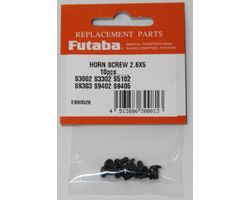 FUTSHRNSCRWMTL25 Servo Horn Screw Metal 2.6x5 10pcs/pack