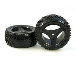 HBX-6588-P018 Rear Wheel/Tire Combo