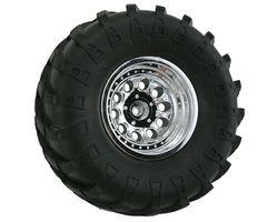 RPM82233 Revolver chrome crawler wheels wide