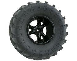 RPM82212 Clawz black crawler wheels wide