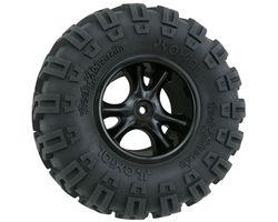 RPM82202 Clawz black crawler wheels narrow