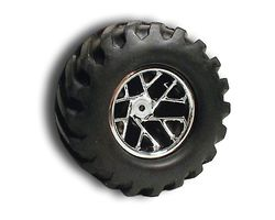 RPM81901 Slingshot wht 12 spk frt trax nitro