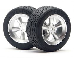 HPI-4793  HPI vintage racing tire 26mm d-compound VTA Legal