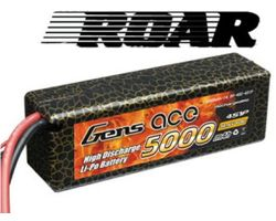 ACE-5000440 Lipo 5000mah 4s 40c hard case