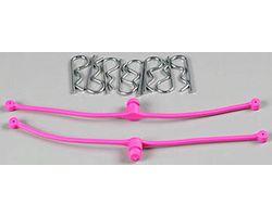 DBR2251 Body Klip Retainers (Pink) 2pcs
