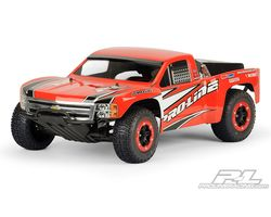 PR3307-60 Short-Course Chevy® Silverado™ 1500 Clear Body