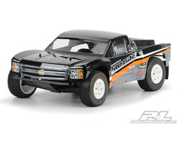 PR3323-00 Chevy silverado 1500 clear body - for HPI blitz