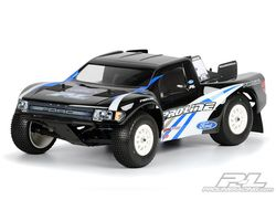 PR3344-00 Ford f-150 svt raptor clear body - short course