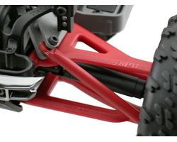 RPM80699 Front Upper/Lower A-arms-Traxxas1/16th Revo- Red