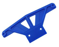 RPM81165 Wide front bumper for trax rust/stmp- blue