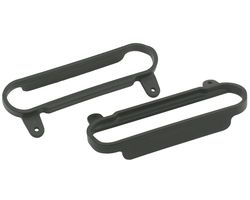 RPM80622 Black Nerf Bars - Slash 2wd & 4x4