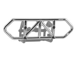 RPM80123 Chrome Rear Bumper for the Traxxas Slash 4x4