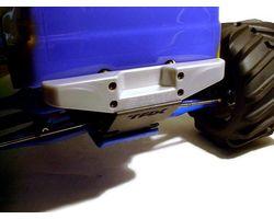 RPM80096 T/e- maxx silver rear step bumper