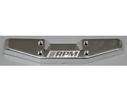 RPM80093 T/e- maxx chrome rear step bumper