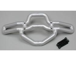 RPM80106 T/e- maxx silver front bumper