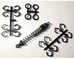 RPM70322 Quick adjust spring clips losi,traxxas,HPI