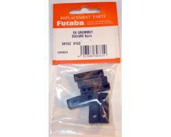 FUTSXFDS9152 Servo Grommet Flange Damper S9152/9153 6pcs / pack