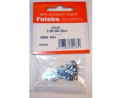 FUTSILET355 Servo Eyelet 3.5Dx5.5Dx5L 20pcs/pack