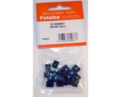 FUTSXFDS Servo Grommet Flange Damper Square 20pcs/pack