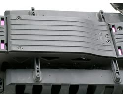 RPM73352 Savage Flux HP Center Skid/Protector Plate – Black