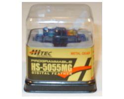 HTHS-5055MG HS-5055 FEATHER SERVO 8g Blue Colour Case