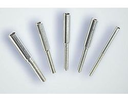 KAV0130C M2 threaded coupler (1.7mm hole)