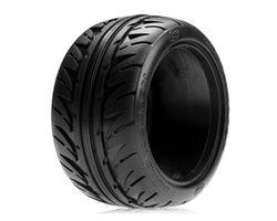 LOSA7684V 320 Series Road Weapon Tires, Fr/R Violet (2)