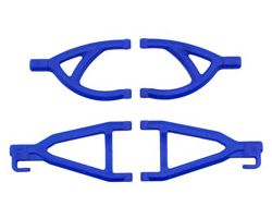RPM80605 Rear Upper/Lower A-arms-Traxxas 1/16th Revo - Blue