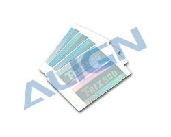 H50058 Flybar Paddle Sticker