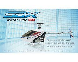 0403-955 Hirobo sdx 50 swm  kit no muff no blades