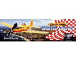 PB-SANDPIPER Pacific Balsa Rubber Powered Ag plane Kit