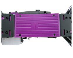 RPM82198 HPI savage x center skid- purple