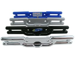 RPM80485 Revo Blue Rear Tubular Bumper