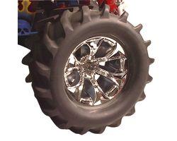 RPM81945 StableMaxx Blue Chrome Titan Wheels