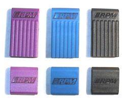 RPM80158 T/e- maxx bulkhead braces- purple