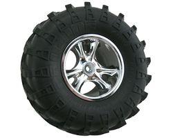 RPM82203 Clawz chrome crawler wheels narrow