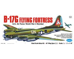 GU2002 B-17G FLYING FORTRESS WW2 BALSA KIT