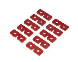 QUK002R Servo Retaining Plates Red