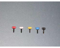 FMP1005 Canopy screws - White 4ea/pk